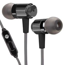 Gogroove - Audiohm Rnf In-ear Headphones - Black