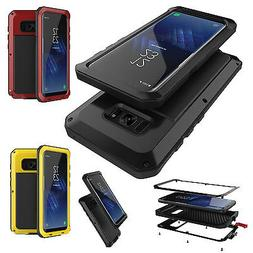 Heavy Duty Shockproof Metal Aluminum Case Cover For Samsung