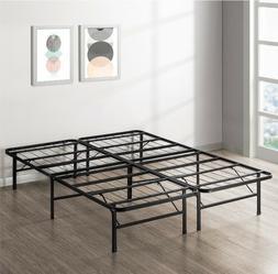 KING Size Metal Platform Bed Frame Heavy Duty Mattress Found