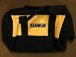 "New Dewalt Heavy Duty Ballistic Nylon Tool Bag 13"" x 10"" x 1"