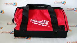 "New Milwaukee 16"" Heavy Duty Contractors Tool Bag L@@K  50-5"