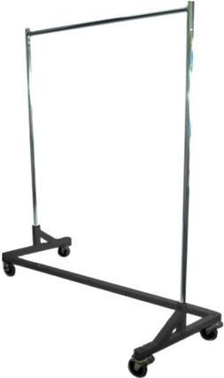 """Only Hangers GR600 Heavy Duty 400lb Capacity Z Rack, 63"""" Len"""