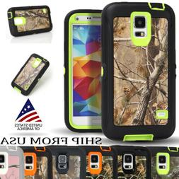 S5 Hybrid Heavy Duty Defender 3- layer Tough Armor Rugged Ca