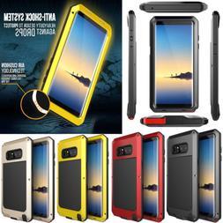 Samsung Galaxy Note 9 S10 Plus Shockproof Metal Hard Heavy D