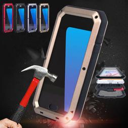 Shockproof Metal Heavy Duty Aluminum Cover Case for Samsung