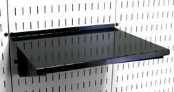 "Wall Control ASM-SH-1612 B 12"" Deep Pegboard Shelf Assembly"