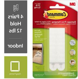 Wholesale CASE of 25 - 3M Narrow Picture Hanging Strips-Pict
