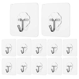 Ninth Five Adhesive Hooks Heavy Duty Sticky Wall & Ceiling &