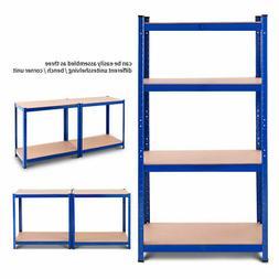 "Adjustable 32""x63""Heavy Duty 4 Level Garage Tool Shelf Stora"