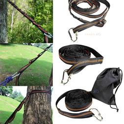 Adjustable Tree Hanging Hammock Straps Heavy Duty Extension
