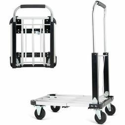 Aluminium Hand Truck Platform Foldable Cart Folding Dolly He