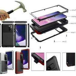Aluminum Heavy Duty Case Cover For Samsung S10 S9 S8 Note 10