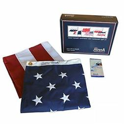 American Flag 4X6 Embroidered Stars Sewn Outdoor Heavy Duty