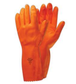 Ansell Heavyweight 208 Extra Heavy-Duty Rubber Gloves XL, 12