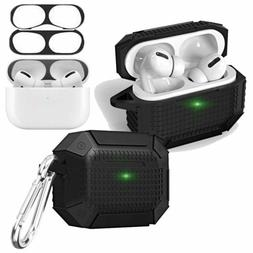 For Apple AirPods Pro Charging Case Heavy Duty Armor TPU Cov