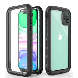 For Apple iPhone 11 Clear Full Body Protection Waterproof Sh