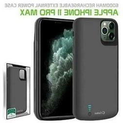 Apple iPhone 11 Pro Max Heavy Duty Rechargeable Battery Case
