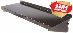 Wall Control ASM-SH-1606 B Deep Pegboard Shelf Assembly for