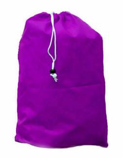 Laundry Bag Heavy Duty Sized Drawstring Nylon Great for Coll