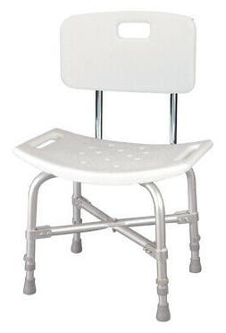 Drive Medical Bariatric Heavy Duty Bath Bench - White
