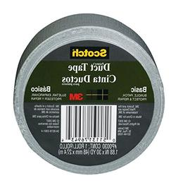 3M Basic Painter's Duct Tape, 1.88 in. x 30 yd., Gray