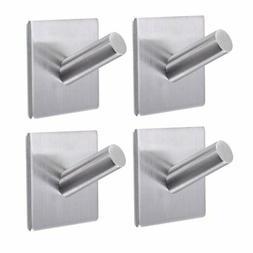 Bathroom Towel Hooks,3M Self Adhesive Wall Hooks,Heavy Duty