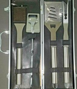 BBQ Grill Tools Set with Carry Case Kit Heavy Duty Gift Set