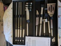 Bbq Tools Barbecue Tool Sets Set, 13-Piece Grill With Alumin