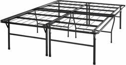 "Best Price Mattress Queen Bed Frame - 18"" Metal Platform Bed"