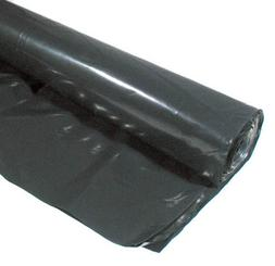 Warp Brothers 10ft. X 25ft. 3 ML Black Plastic Sheeting  3CH