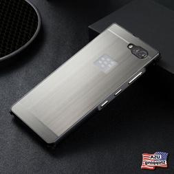 For BlackBerry Keyone Key2 Heavy Duty Metal Aluminum Shockpr