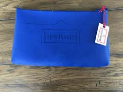 Hunter Blue Zipper Pouch. Large. New With Tag
