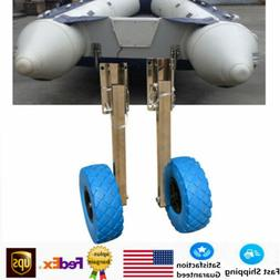 Boat Transom Launching Wheel Dolly For Inflatable Boat 136KG