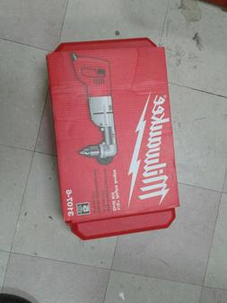 "BRAND NEW MILWAUKEE 3107-6 1/2"" HVY DUTY RIGHT ANGLE DRILL K"