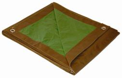 20 X 30 Dry Top Brown/green Reversible Full Size 7-mil Poly