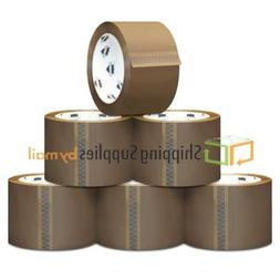 Brown/Tan Carton Sealing Packing Tape Heavy Duty 1.8 Mil 2""