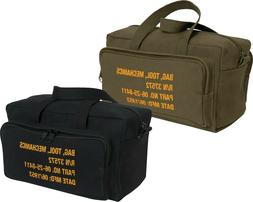 Canvas Mechanics Tool Bag Military Stamped Heavy Duty with O