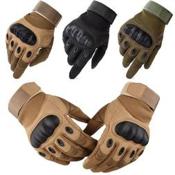 Carbon Fiber Tactical Safety Work Impact Gloves Construction