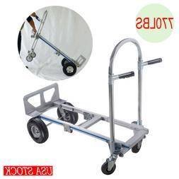 CE Portable Folding Aluminum Hand Truck Luggage Carts Dolly