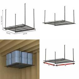 Hyloft Ceiling Mounted Storage Shelf, Black