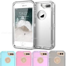 Clear Defender Transparent Case Cover for iPhone 8 7 & Plus