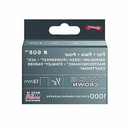 Arrow Fastener Co 1/2IN Wide HD Staples 1000/Box - 60830
