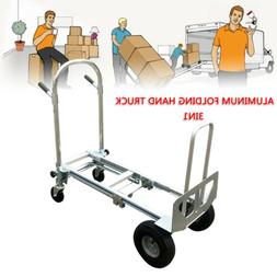 Commercial Aluminum Stair Climber Hand Truck Heavy Duty Flat