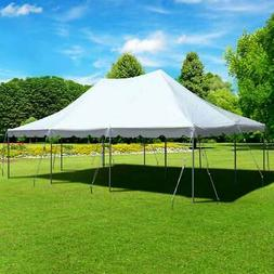 20x30' Commercial Canopy Pole Tent Outdoor Event Party White