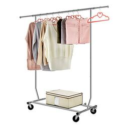 LANGRIA Heavy Duty Garment Rack Commercial Grade Adjustable