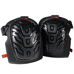 Construction Knee Pads for Work - Heavy Duty Knee Guard & Kn