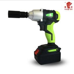 Cordless Impact Wrench Heavy Duty Power With 58V Li-Ion Lith