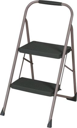 Cosco Two-Step Big Step Folding Stool with Rubber Hand Grip