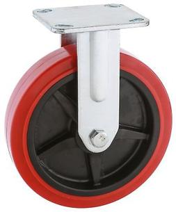 Steelex D2573 Fixed Heavy Duty Industrial Wheel, 8-Inch