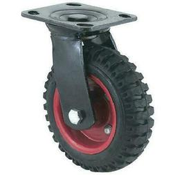 Steelex D2581 8-Inch Swivel Heavy Duty Industrial Wheel
